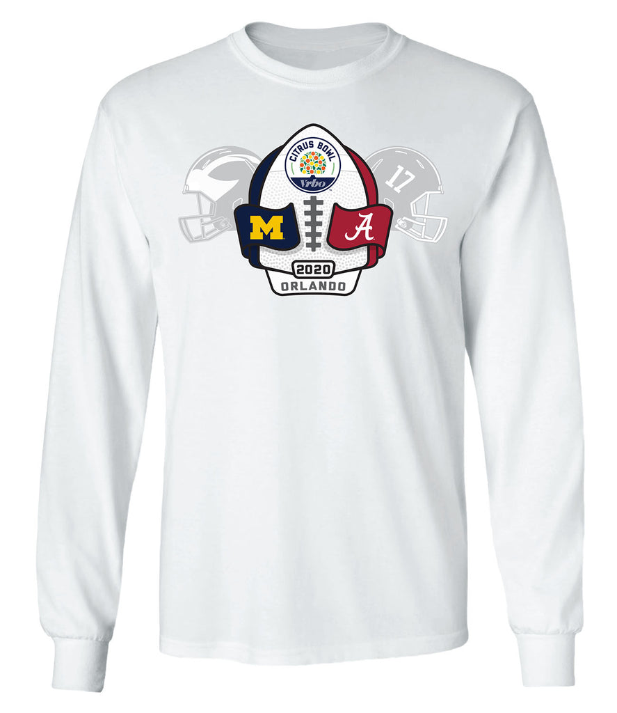 2020 Citrus Bowl 2-Team Long Sleeve T