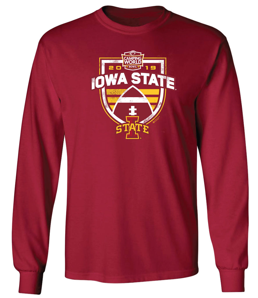 2019 Camping World Bowl Iowa State Long Sleeve T