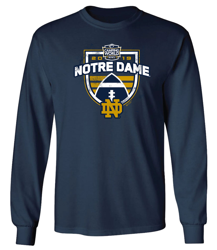 2019 Camping World Bowl Notre Dame Long Sleeve T