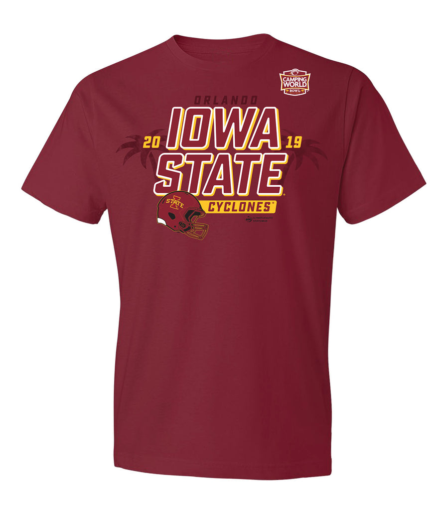 2019 Camping World Bowl Iowa State Short Sleeve T