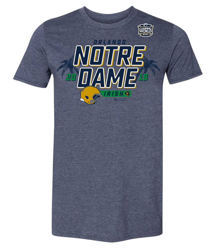 2019 Camping World Bowl Notre Dame Short Sleeve T