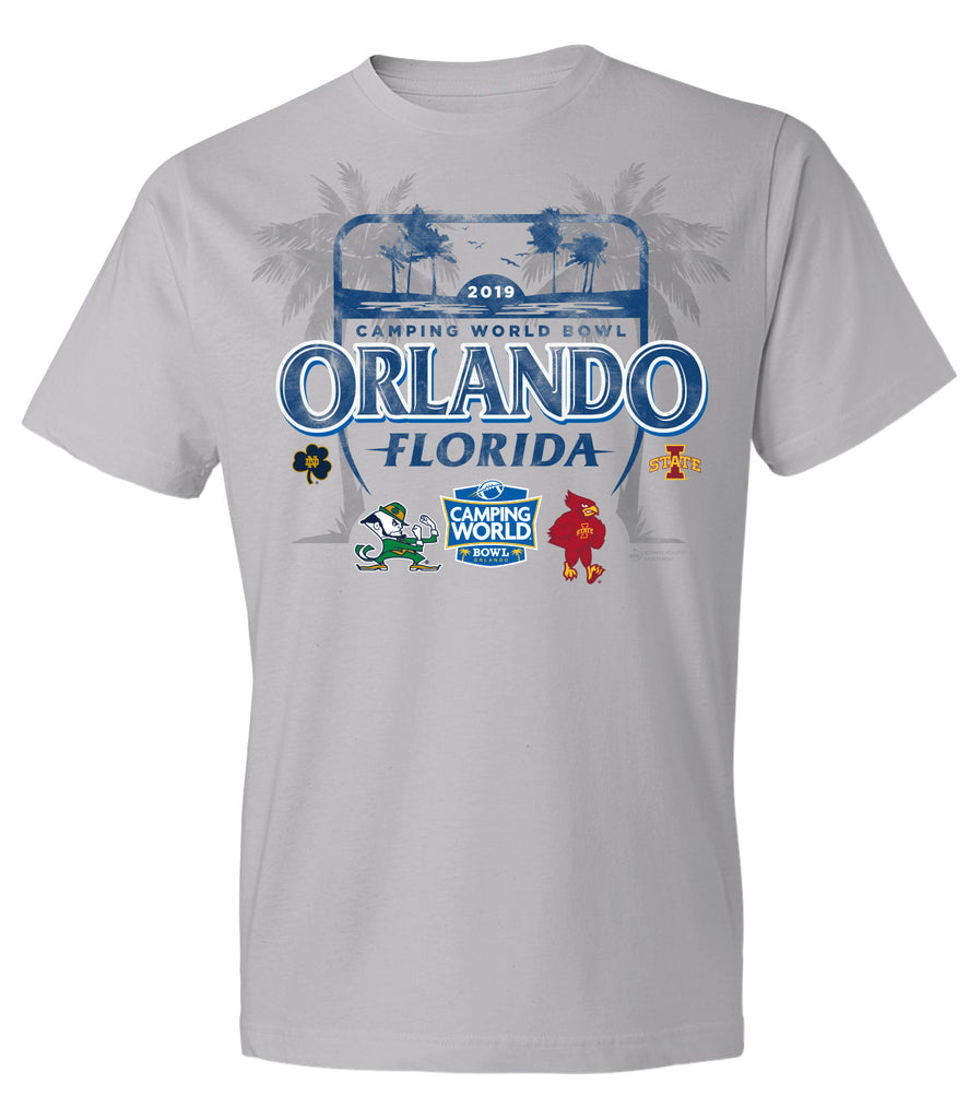 2019 Camping World Bowl Refreshing Tee 2.0