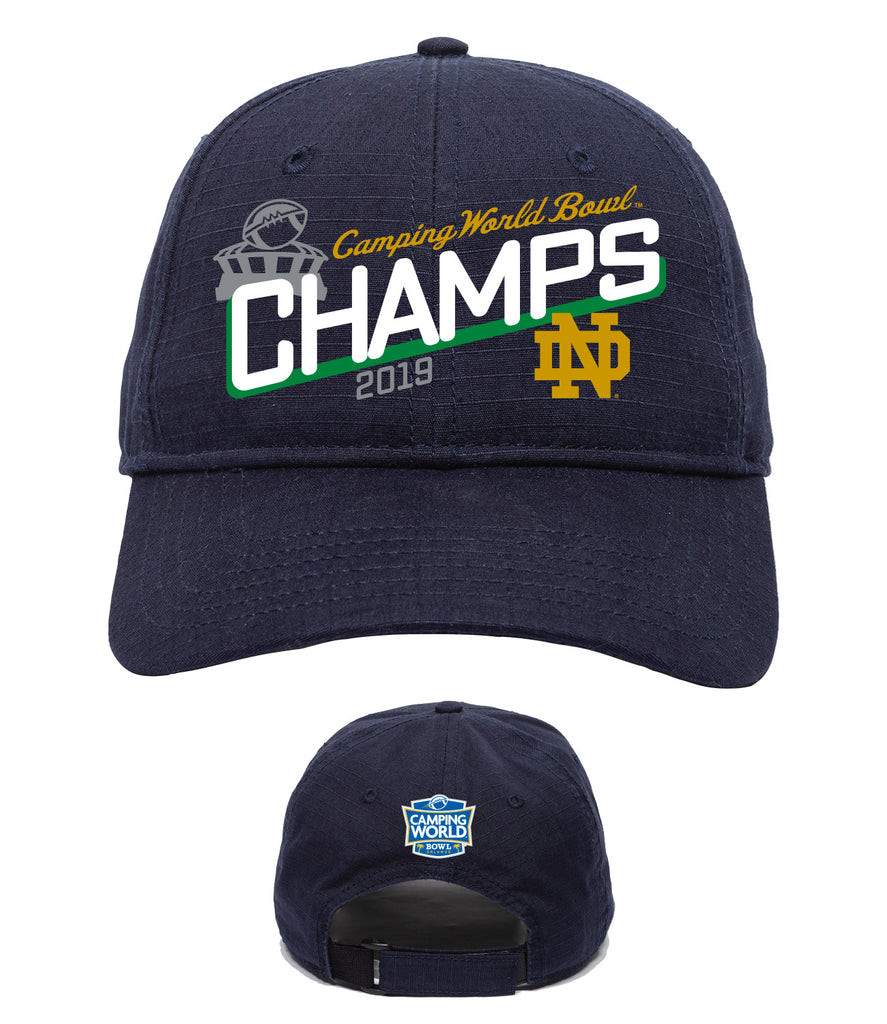 2019 Camping World Bowl Notre Dame Champions Hat