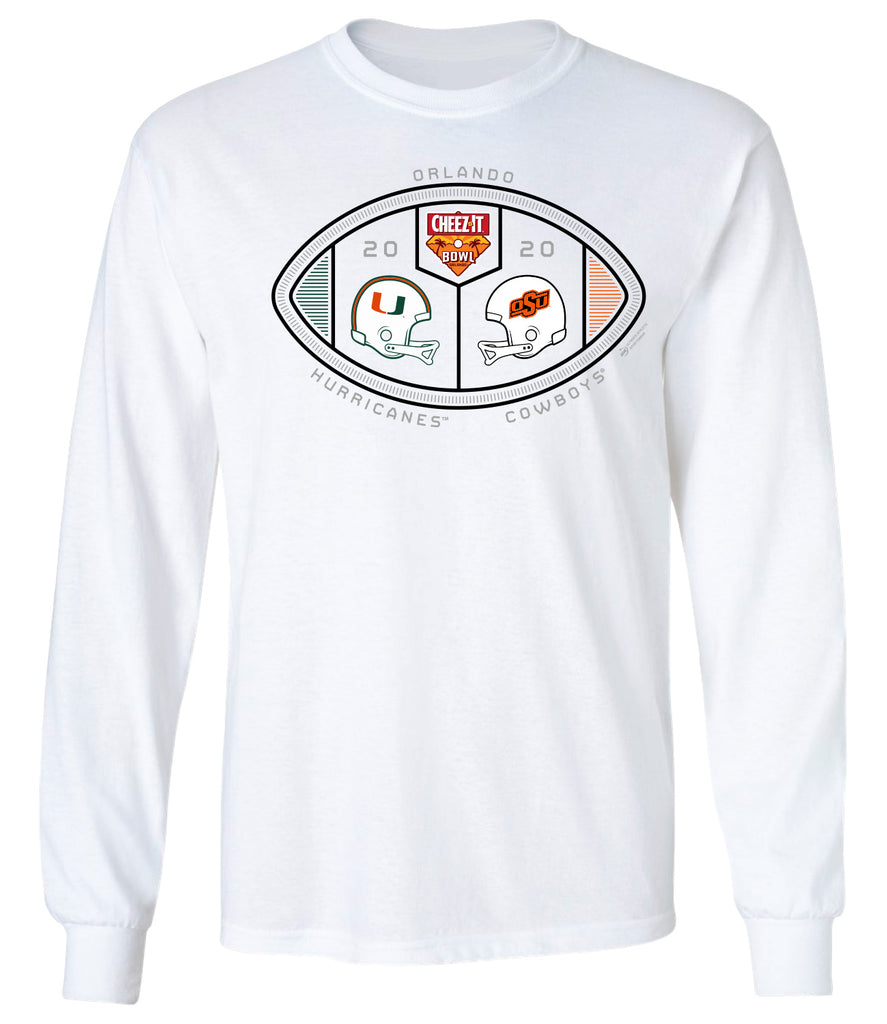 2020 Cheez-It Bowl 2-Team Long Sleeve Tee