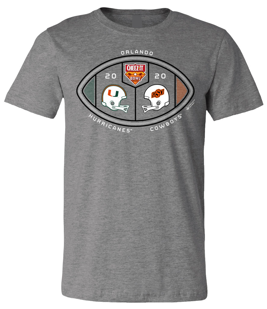 2020 Cheez-It Bowl 2-Team Short Sleeve Tee