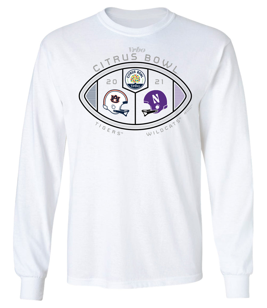2021 Citrus Bowl 2-Team Long Sleeve Tee
