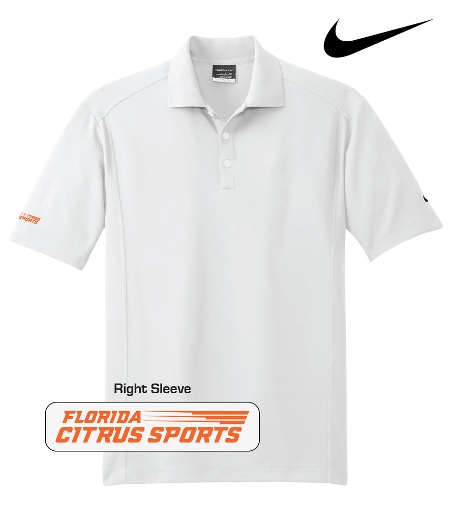 Florida Citrus Sports - Men's Nike Polo; Sleeve Embroidery
