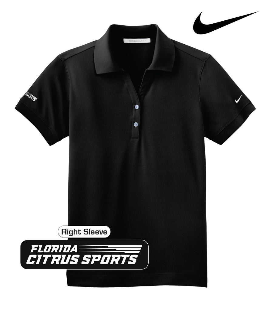 Florida Citrus Sports - Ladies' Nike Polo; Sleeve Embroidery