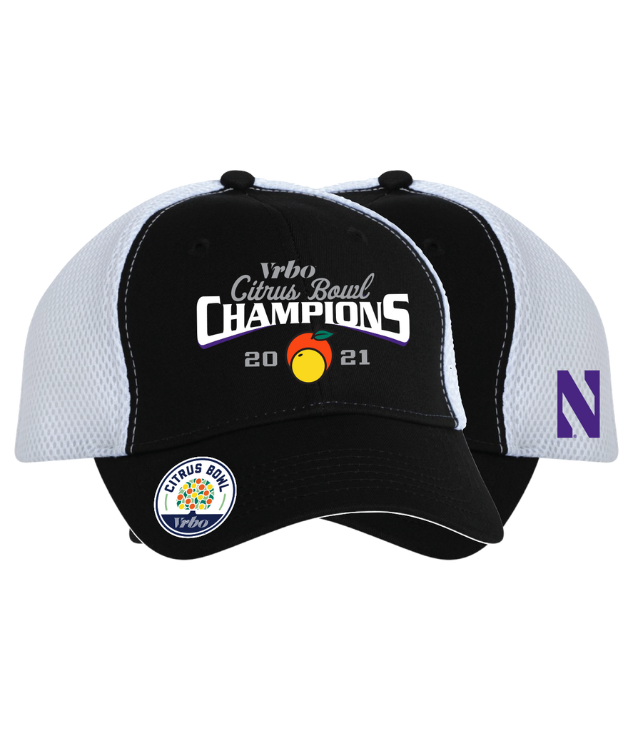 2021 Citrus Bowl Northwestern Champions Hat