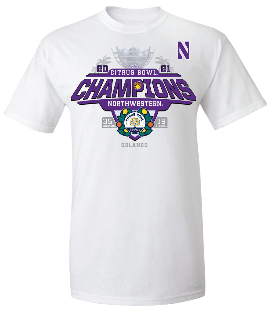 2021 Citrus Bowl Northwestern Champions White SST