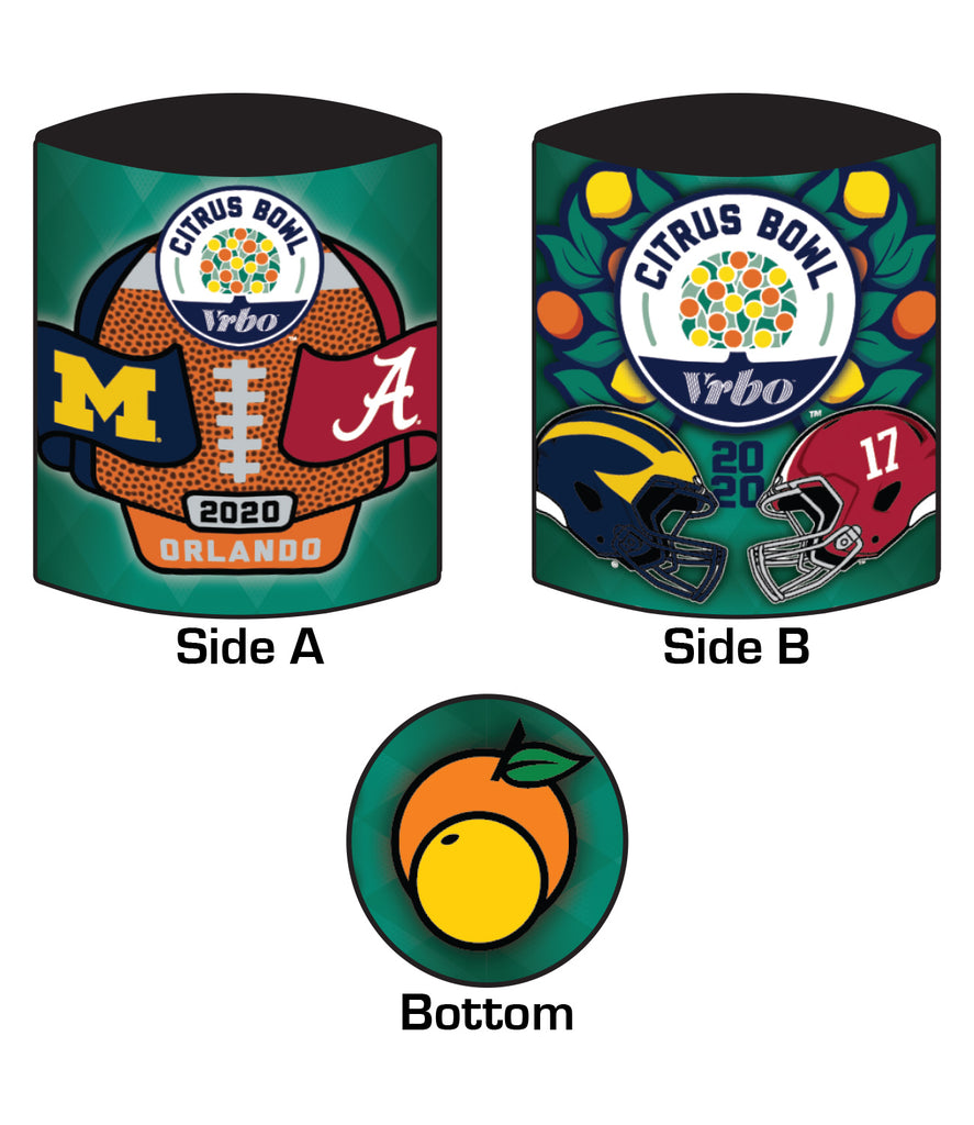 2020 Citrus Bowl 12oz Koozie