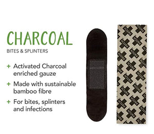 Patch Activated Charcoal Natural Bandages (25 ct)
