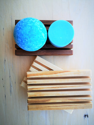 Wooden Soap Dish |  Leslie & Webb Studio