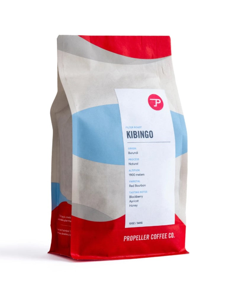 Burundi Kibingo Natural Coffee Beans | Propeller Coffee