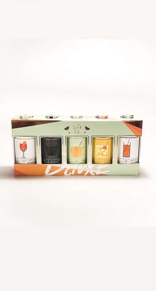 Deluxe Cocktail Kit | 3/4oz.