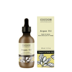 Argan Facial Oil Serum from Cocoon Apothecary.