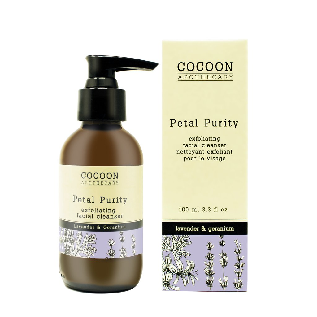 Petal Purity Exfoliating Facial Cleanser with Lavender and Geramium