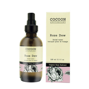 Rose Dew Facial Toner with Organic Rose Hydrosol