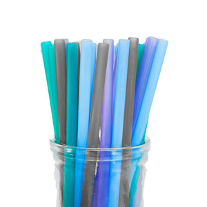 Colibri - Silicone Straws | Multi colour