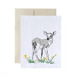 Plantable Wild Flower Greeting Cards
