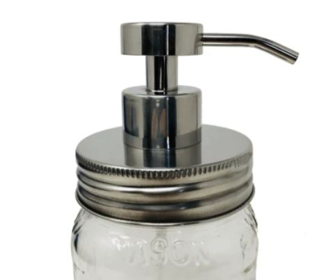 Foaming Pump Lid for Regular Mouth Mason Jars