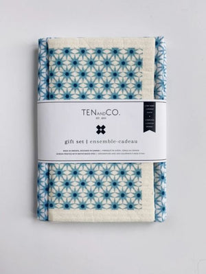 Swedish Cloth + Tea Towel Gift Set | Ten & Co