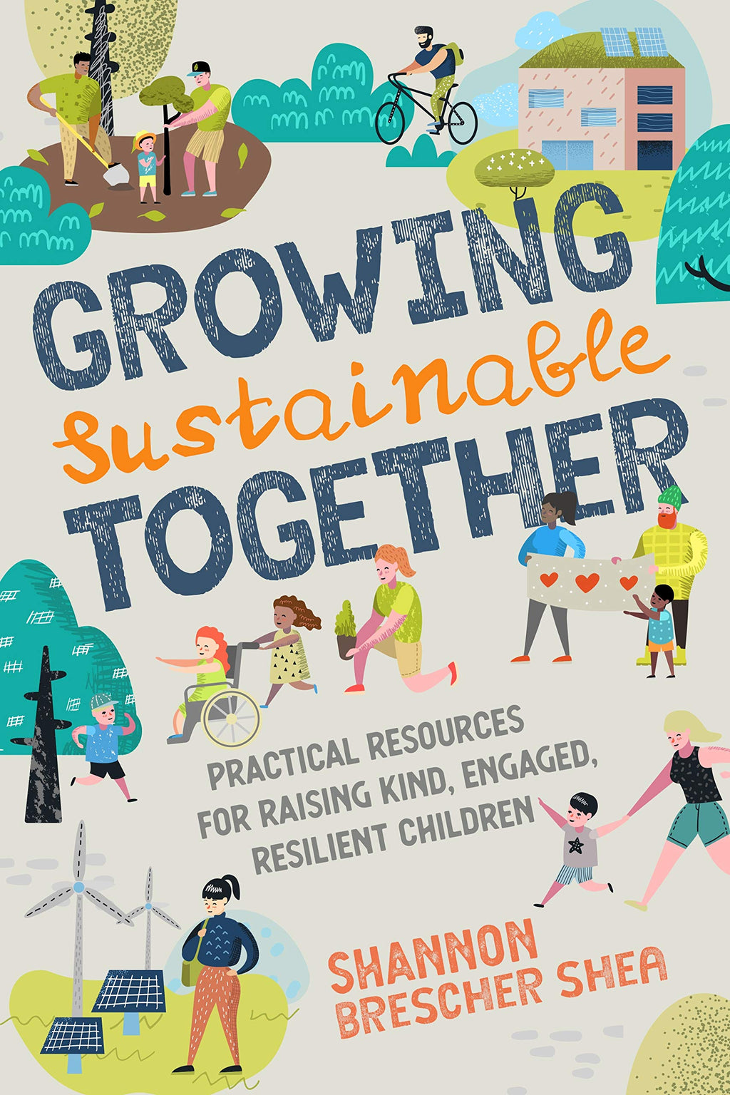 This book provides, tips, tools, advice, and activities for raising eco-friendly kids while nurturing compassion, resilience, and community engagement.