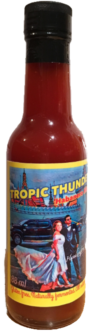 The OG Habanero Maple Hot Sauce 147 ml - Tropic Thunders