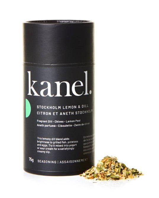 Stockholm Lemon & Dill Herb and Seasoning Blend - Kanel Spices