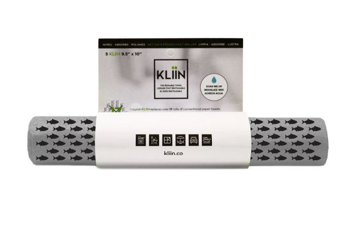 KLIIN Rolls (Reusable Paper Towels - 3 colours)