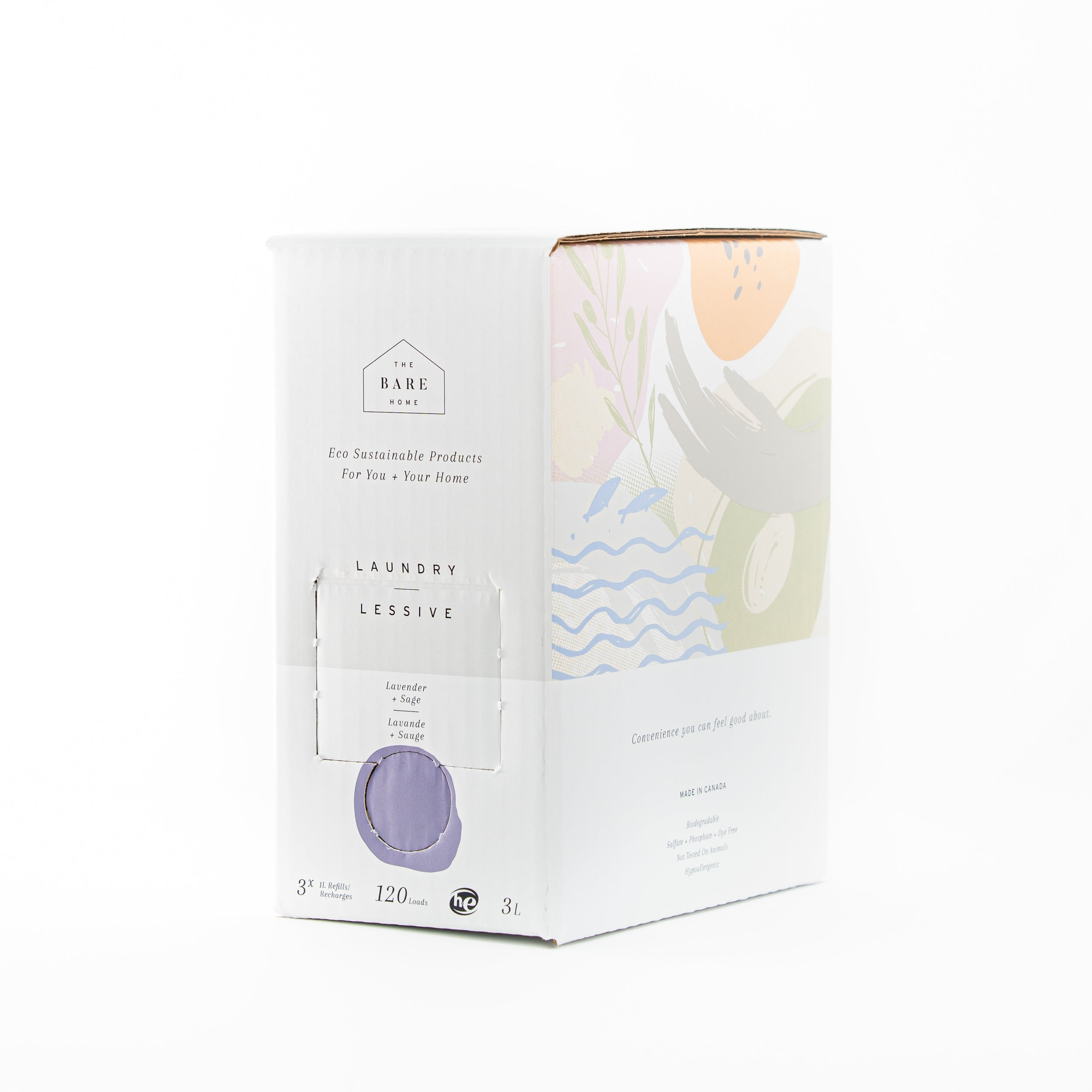Laundry Soap | Lavender & Sage | The Bare Home