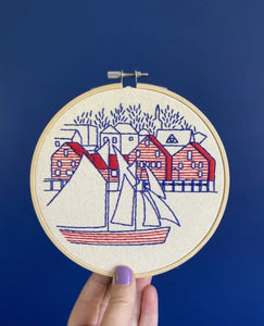 Lunenburg Embroidery Kit | Hook, Line & Tinker