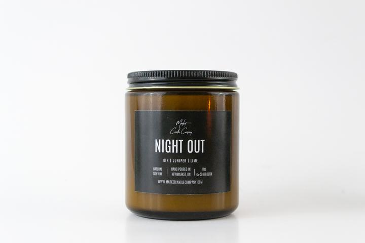 Night Out Soy Candle