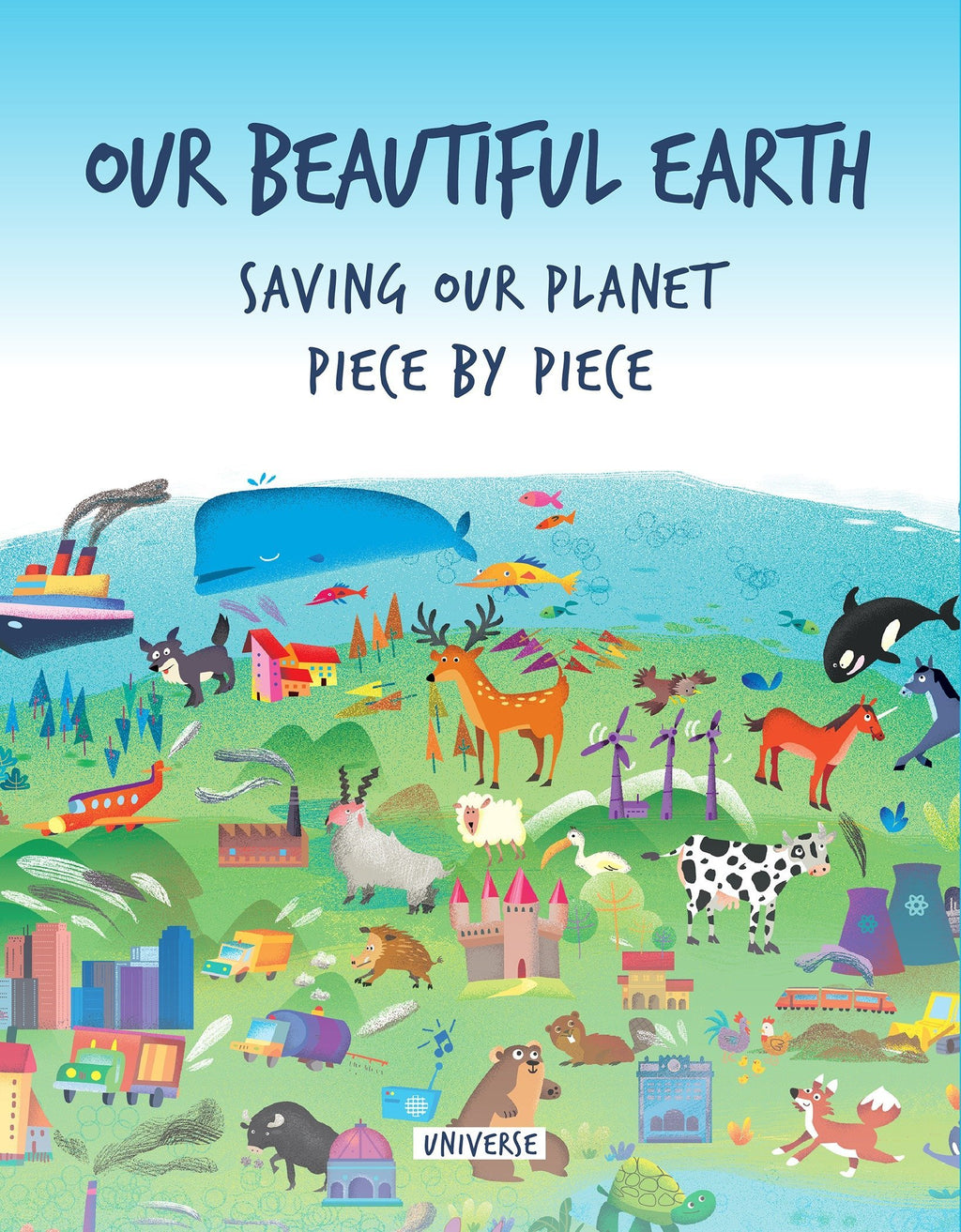 This children's book provides a timely and topical plea to save the planet, told visually with die-cut pages and charming illustrations. A story for young and old alike that is told with almost no words, relying instead on delightful illustrations and die-cut pages that convey in a simple yet direct way how humanity treats the Earth, our only home.