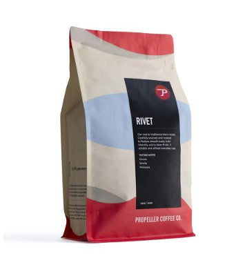 Rivet Extra Dark Roast Coffee Beans 340 gm - Propeller Coffee