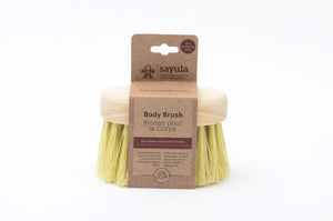 Excellent for dry brushing, this brush can be used to exfoliate and stimulate circulation to leave skin feeling soft and smooth. Sayula is a Mexican-Canadian company which provides environmentally and socially responsible bath and kitchen products.