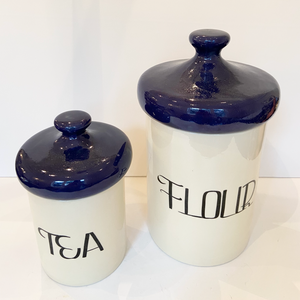 Vintage Kitchen Canisters | Chateau High-Low