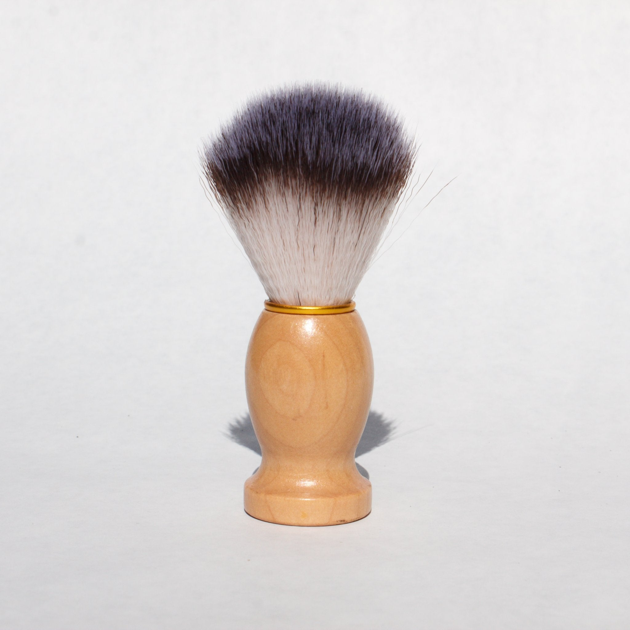 Shaving Soap Brush | Charcoal & Rose Petals
