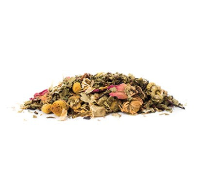 Organic Spa Day Loose Leaf Tea 70 gm - Glass Jar - Pluck Tea