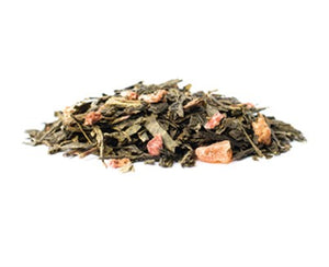 Strawberry Fields Loose Leaf Tea 110 gm - Glass Jar - Pluck Tea