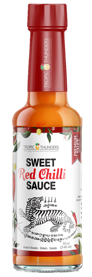 The Sweet Tiger Red Chilli Hot Sauce 147 ml - Tropic Thunders