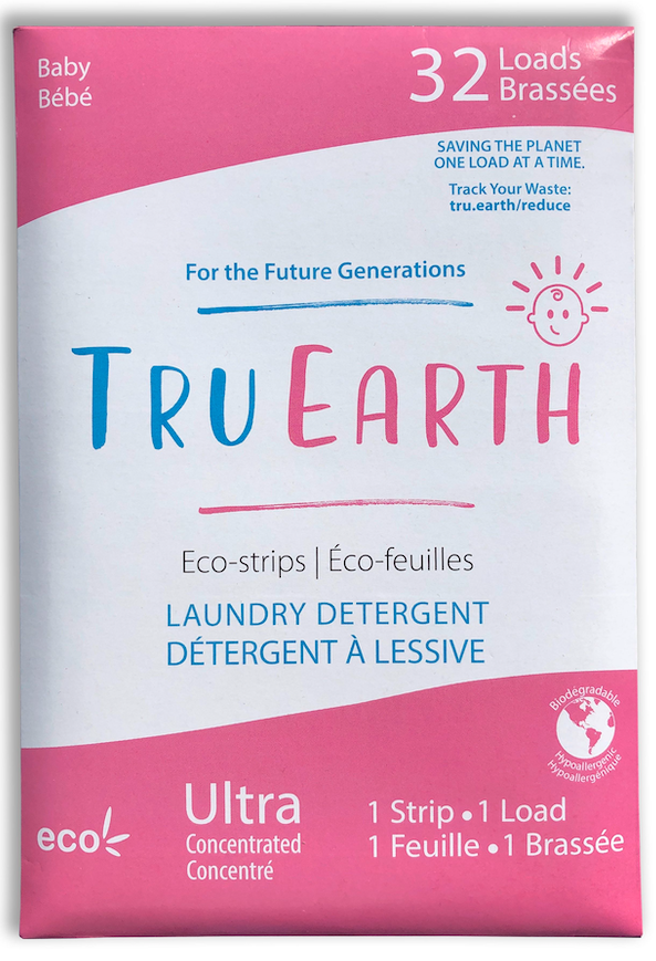 Tru Earth Eco-Strips Laundry Detergent | Baby