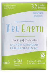 Tru Earth Eco-Strips Laundry Detergent | Fragrance Free