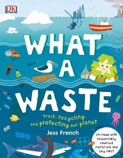 In this informative book on recycling for children, you will find everything you need to know about our environment. The good, the bad and the incredibly innovative. From pollution and litter to renewable energy and plastic recycling.