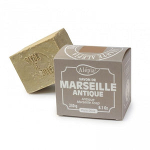 Antique Marseille soap 230g - Pure olive | Au Savon de Marseille