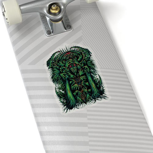 Dr Madness Sticker (Green)