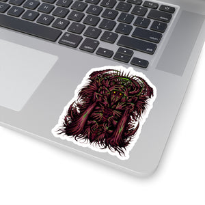 Dr Madness Sticker (RED)