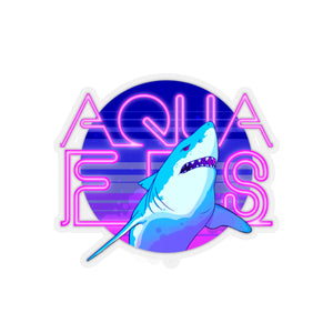 AquaShark Sticker