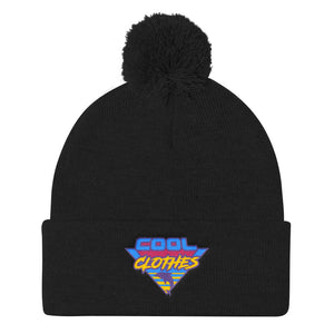 Cool Clothes Pom Pom Knit Cap