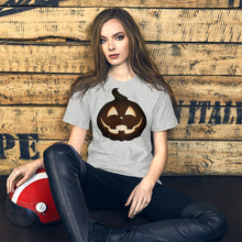 Load image into Gallery viewer, Jack o Lantern Unisex T-Shirt